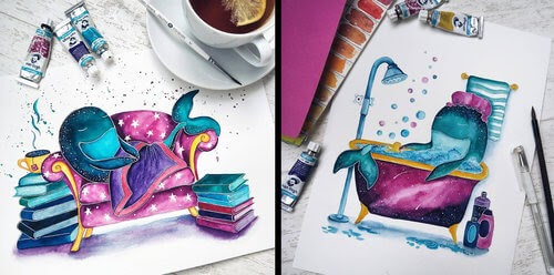 00-Katya-Goncharova-9-Whale-Paintings-and-1-Giraffe-www-designstack-co