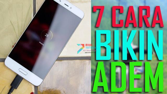 7 Cara Mendinginkan Smartphone Xiaomi Ketika Proses Pengisian Beterai: Dari yang Normal Sampe Konyol