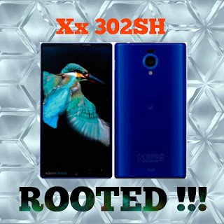 Cara root sharp aquos Xx 302SH
