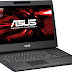 The gaming laptop pc ASUS ROG G74SX