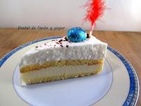 Pastel de limón y yogur (Mona de Pascua)