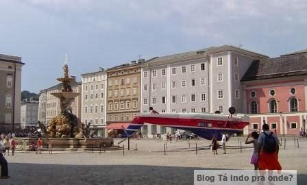 Residenzplatz em Salzburg