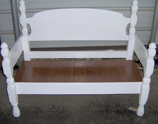 Four Poster Headboard Bench Easy My Repurposed Life 174
