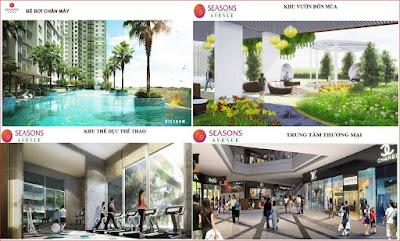 Tiện ích dự án Seanson Avenue
