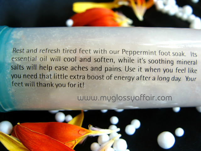 The Nature's Co. Peppermint Foot Soak Review
