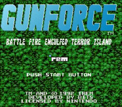 【SFC】武裝部隊原版+人數不限版,經典動作冒險遊戲!