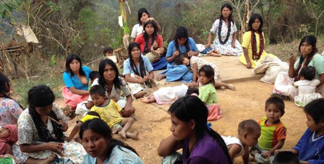 500 indígenas Yukpas cruzaron hacia Colombia en busca del Arroz que Maduro les niega 🌽🌽🌽🌽