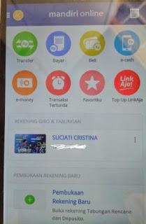 Buka Deposito dari Aplikasi Mandiri Online