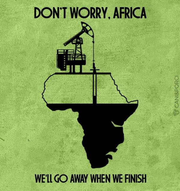 plunder of Africa