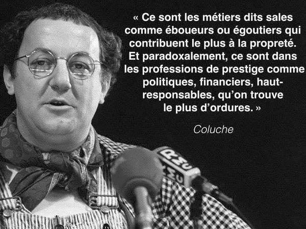 politique - Coluche