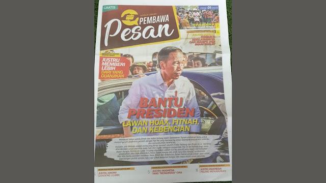 Tabloid 'Pembawa Pesan' Diduga Ulah Caleg PDIP