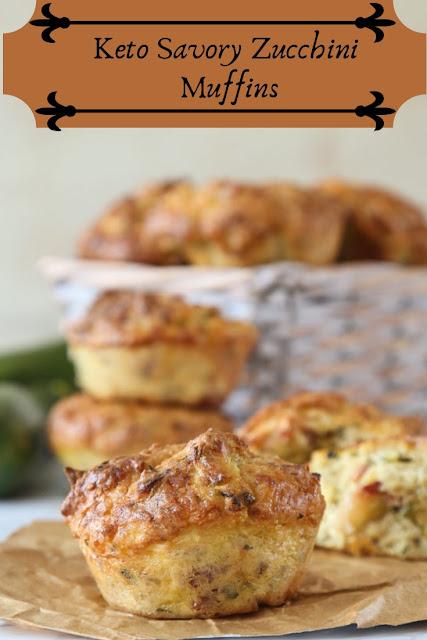 Keto Savory Zucchini Muffins