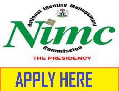 2018 NIMC Recruitment Page - See Full Application Guidelines