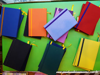 souvenirs cadernos coloridos gaetana trastevere guia brasileira - Souvenirs alternativos em Roma