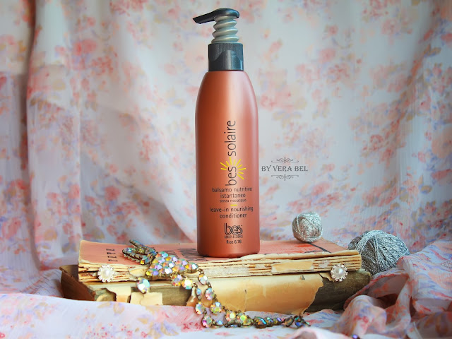 Pitatelnyiy balzam mgnovennogo deystviya bez smyivaniya Norishing leave in conditioner Solaire BES, review, Vera BEL, обзор, отзыв