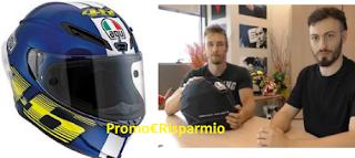 Logo #Sempreinsella con Oram e il casco AGV Corsa VR46 sarà tuo a 10€ anziché 850€