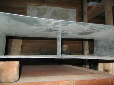 связка больших стенок бака