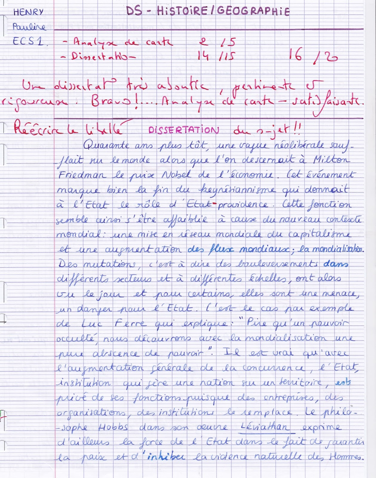 Dissertation dhistoire