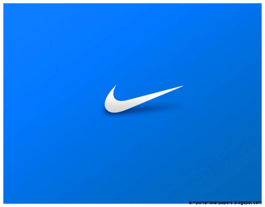 Nike Blue Desktop Background Important Wallpapers