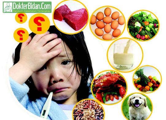 Alergi Makanan - Penyebab Gejala Ciri Tanda dan Obat Apotik Untuk Anak Anak Serta Orang Dewasa