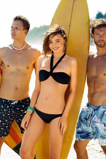 Miranda Kerr – BONDS Swimsuit 2016 Campaign