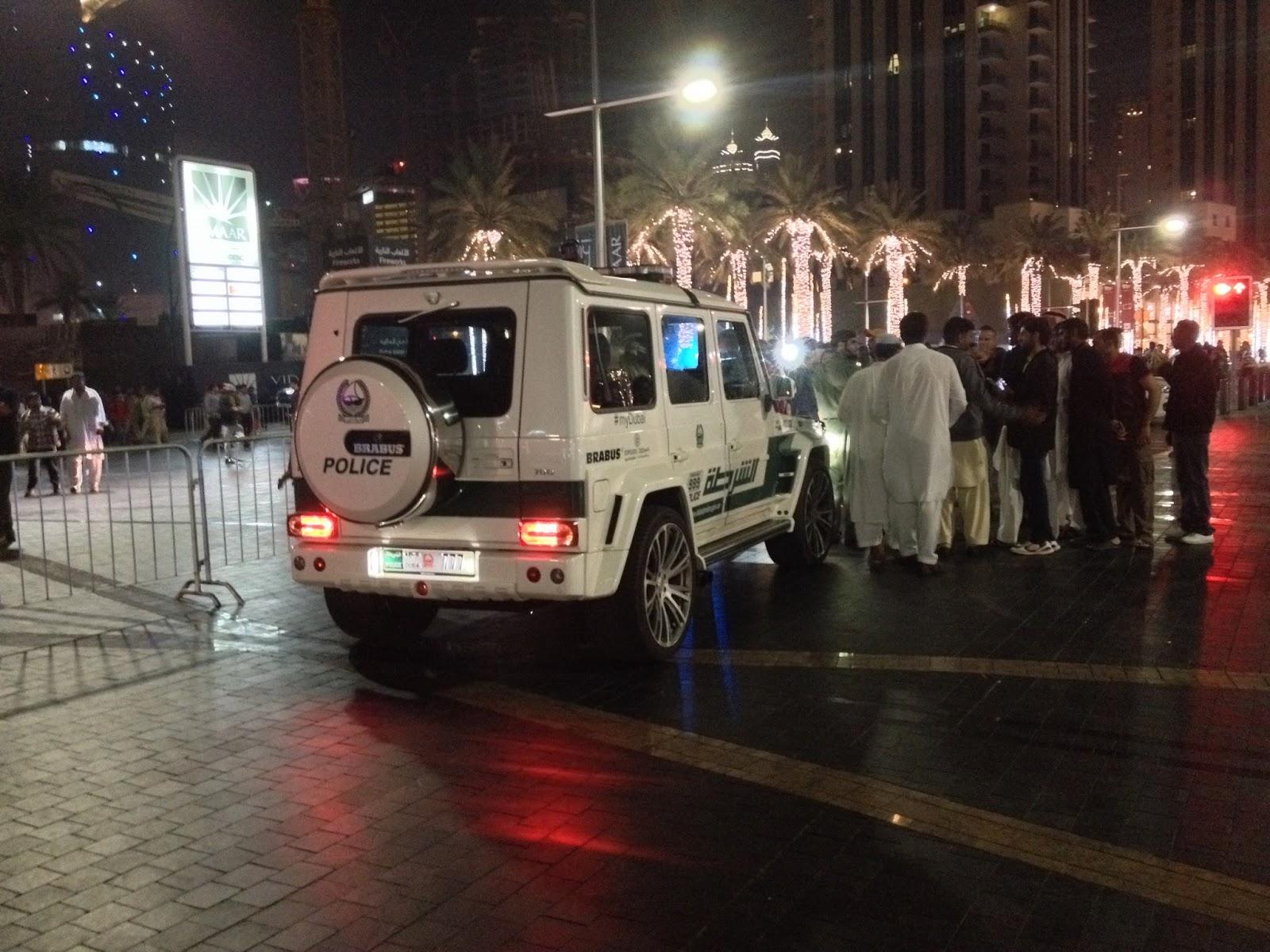 Brabus G65 AMG Dubai Police