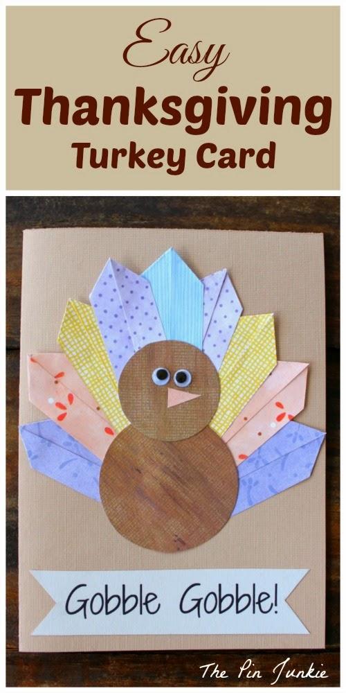 thanksgiving-turkey-card easy diy