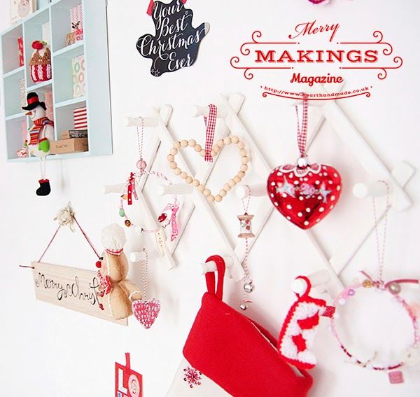 Christmas DIY projects from #merrymakings magazine