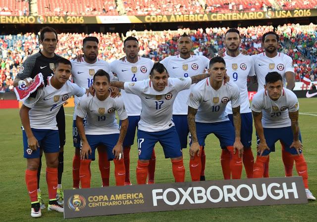 Formación de Chile ante Bolivia, Copa América Centenario, 10 de junio de 2016