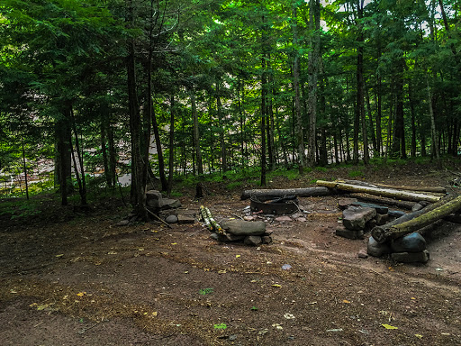 Hiker's North Campsite on the North Country National Trail - Copper Falls Segment