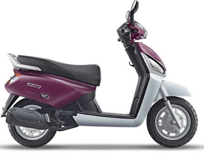 Mahindra Gusto 110 Special Edition dual tone colour hd picture