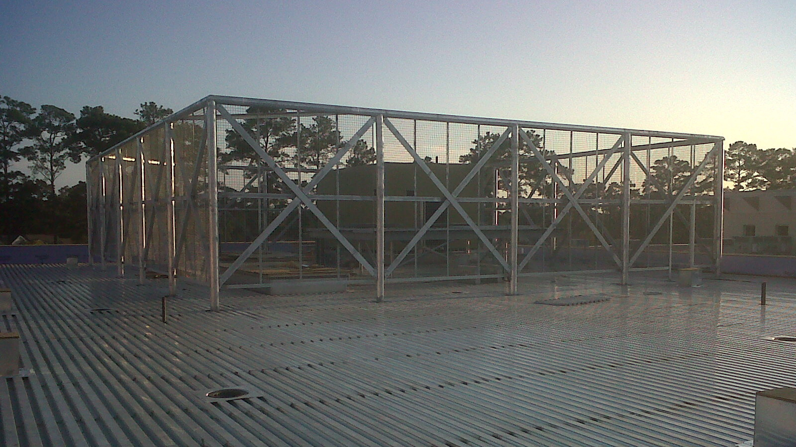 Sga Speir Building Addition Details Mechanical Garden