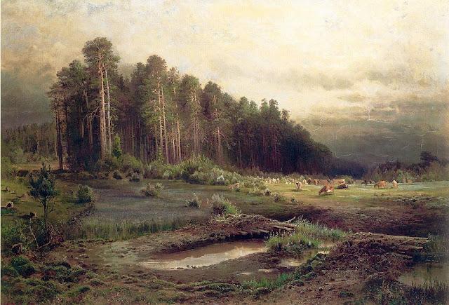 Aleksej Savrasov. Losinij Ostrov en Sokolniki (1869)