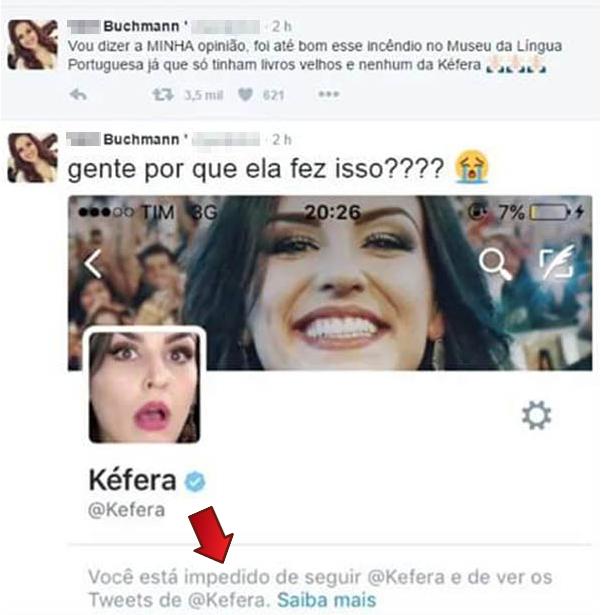 Nem Kefera aguenta seus fãs...