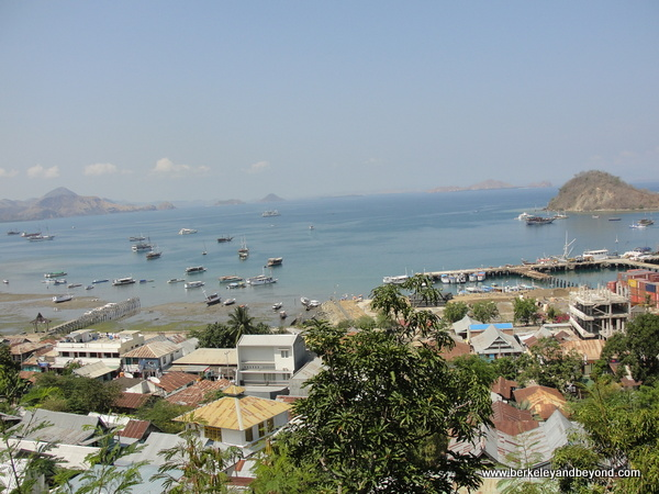 Labuan Bajo on Flores Island in Indonesia