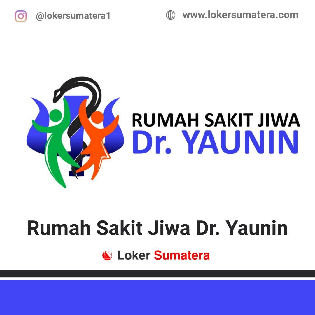 Lowongan Kerja Padang: Rumah Sakit Jiwa Dr Yaunin Januari 2021