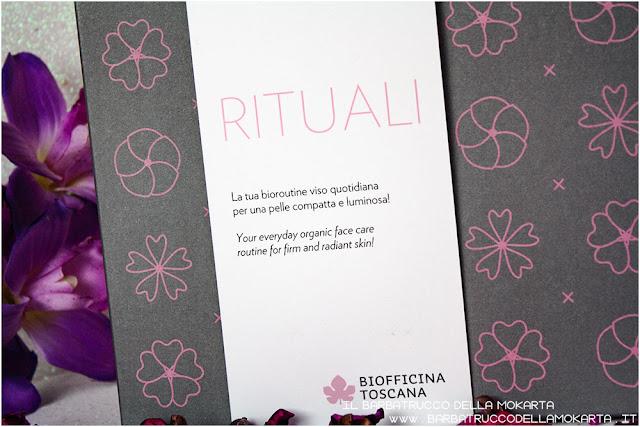 recensione cofanetto Rituale di bellezza viso Biofficina Toscana