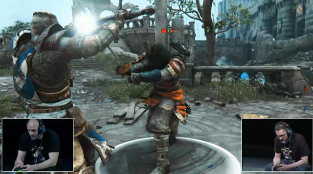 For Honor Leroy E3 PVP combat close quarters Ubisoft