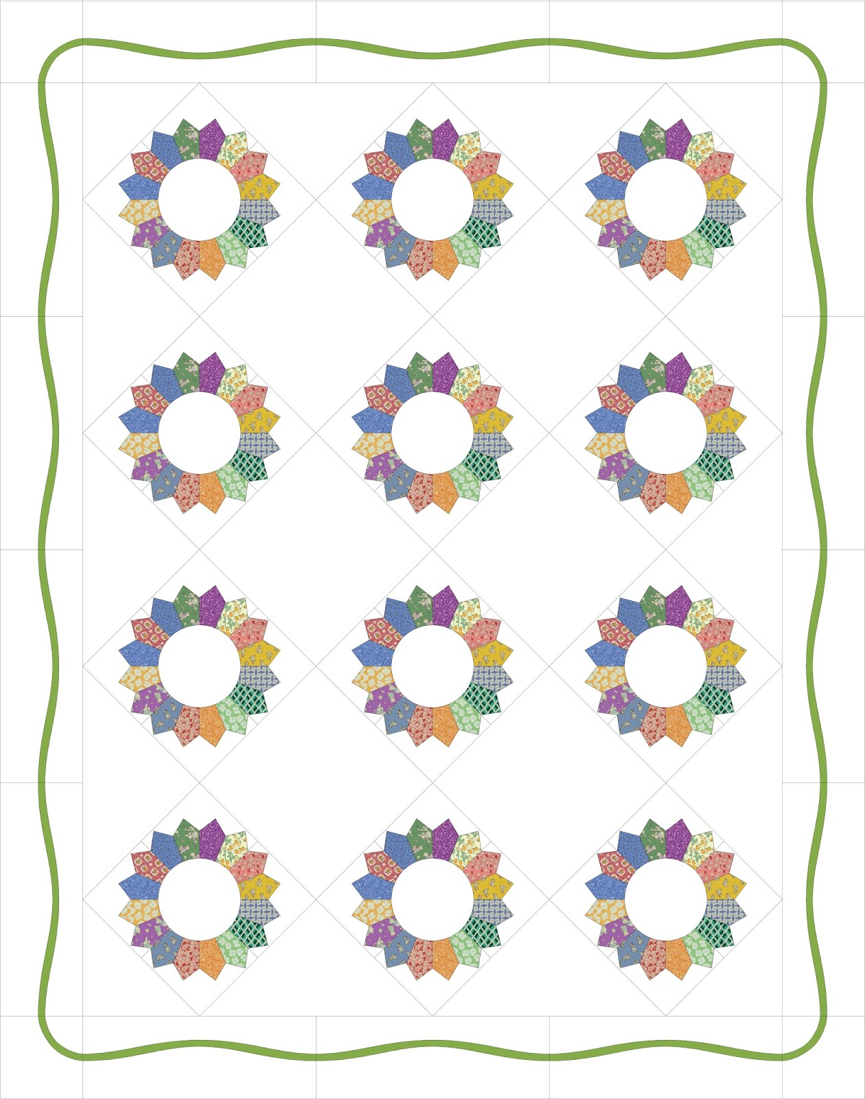 Free Block Of The Month Quilt Patterns 2017 Custom Inspiration