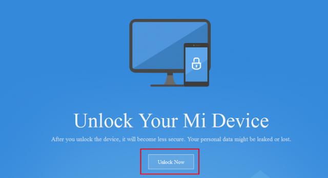 Cara Mudah Unlock Bootloader Semua Android Xiaomi