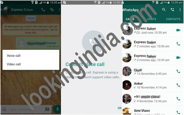 Open WhatsApp video call andriod, ioz, windows pc 7,8,10 2016