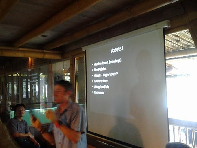 Writravellicious Goes To Hubud Co-Working Space (bagian 1)