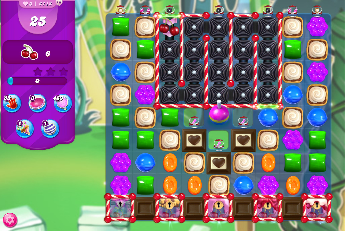 Candy Crush Saga level 4118