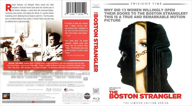 The Boston Strangler Bluray Cover