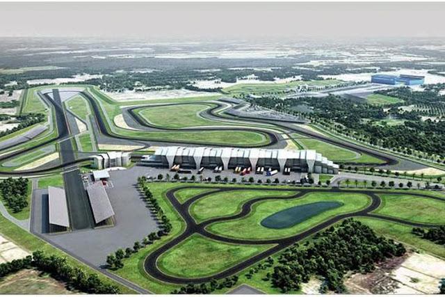 Chang Internatonal Circuit di Thailand