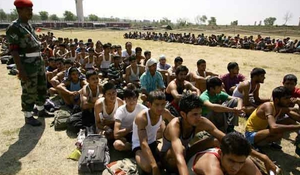 Ghazipur Army Rally, Indian Army Rally, Open Bharti Rally