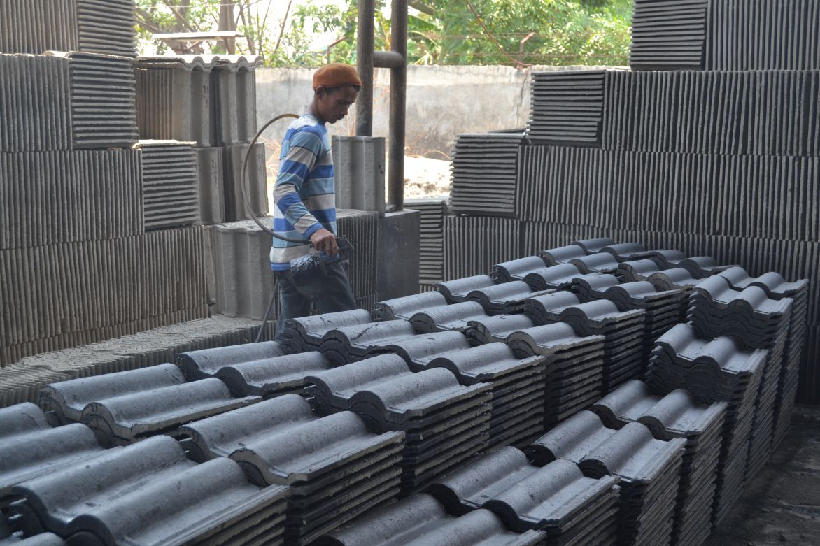 jual genteng aspal shingle