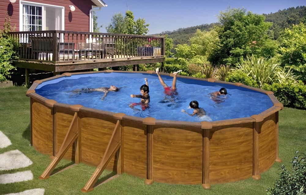 piscina fuori terra gre modello Mauritius