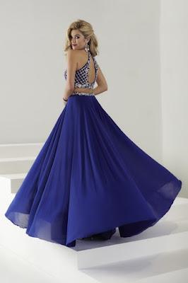 diseños de Vestidos de 15 Años Azules