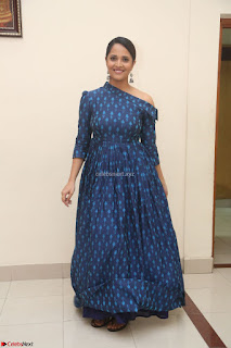 Anchor Anasuya in a Blue Gown at Jai Lava Kusa Trailer Launch ~  Exclusive Celebrities Galleries 033.JPG